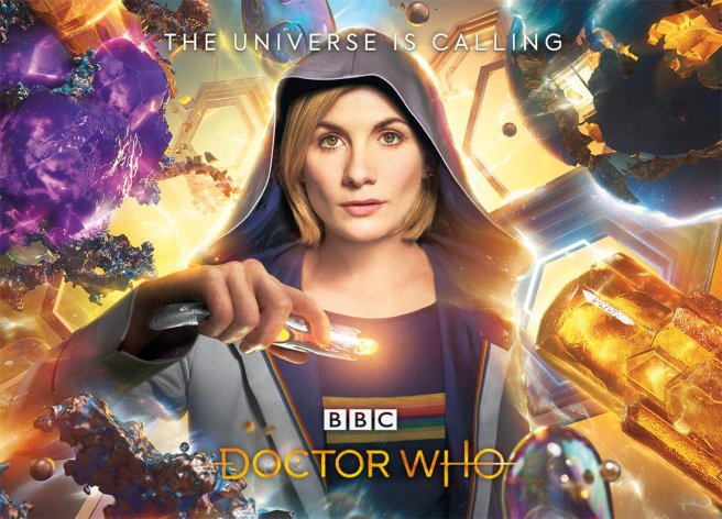 doctor who series 11 sdcc 2018 news thirteenth doctor jodie whittaker the universe is calling sonic screwdriver yasmin khan graham o'brian chris chibnall matt strevens