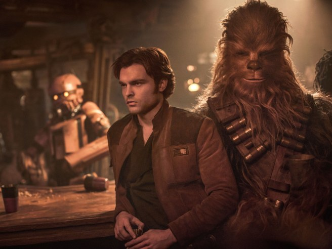 Solo A Star Wars Story Box Office jon favreau star wars tv show disney direct connect streaming service endor alden ehrenreich kathleen kennedy boba fett james mangold