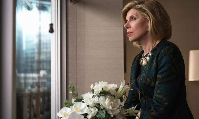 the good fight season 2 review essay diane lockhart christine baranski clarity chaos absurdity trump