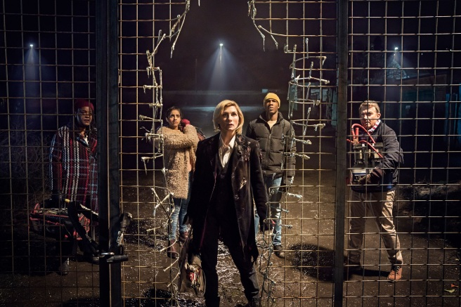 doctor who the woman who fell to earth review jodie whittaker tosin cole mandip gill bradley walsh sharon d clarke chris chibnall jamie childs tim shaw