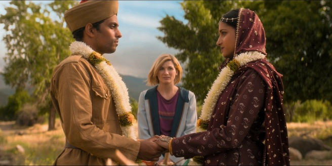 doctor who review demons of the punjab jodie whittaker shane zaza chris chibnall jamie childs vinay patel mandip gill