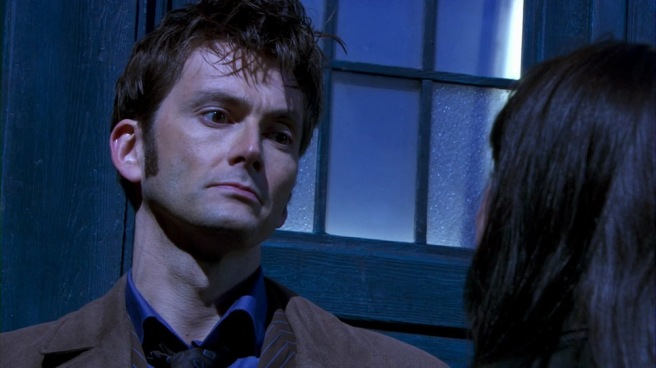 doctor who review planet of the dead david tennant michelle ryan dubai desert flying bus tardis prophecy he will knock four times