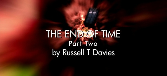 doctor who the end of time part two review david tennant russell t davies