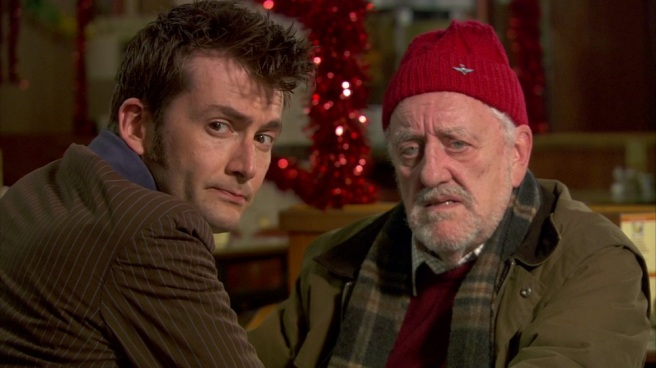 doctor who the end of time review david tennant tenth doctor regeneration wilf mott bernard cribbins cafe