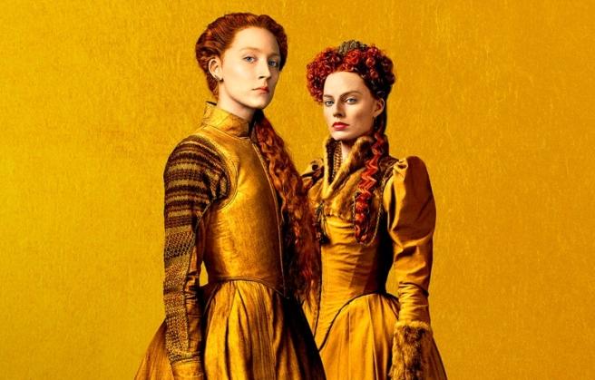 mary queen of scots queen elizabeth saoirse ronan margot robbie josie rourke gemma chan adrian lester