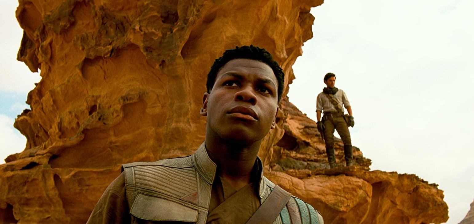 star wars the rise of skywalker review finn john boyega stormtrooper janna naomi ackie oscar isaac poe dameron keri russell