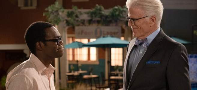 the good place the answer daniel schofield valeria migliassi collins ted danson william jackson harper michael chidi best of 2019 top ten review