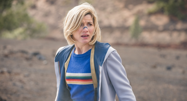doctor who orphan 55 series 12 review ed hime chris chibnall jodie whittaker environment too pc global warming