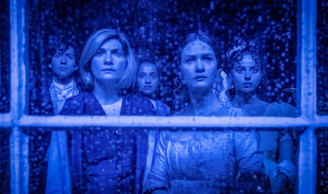 doctor who review haunting villa diodati mary shelley lili miller byron jacob collins levy cyberman ashad patrick o kane