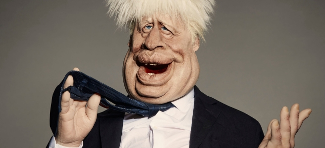 boris johnson spitting image britbox 2020 matt forde dominic cummings review