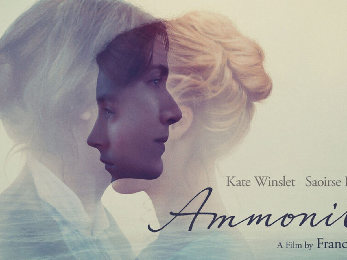 ammonite kate winslet mary anning saoirse ronan charlotte murchison fossil lyme regis poster landscape movie review francis lee
