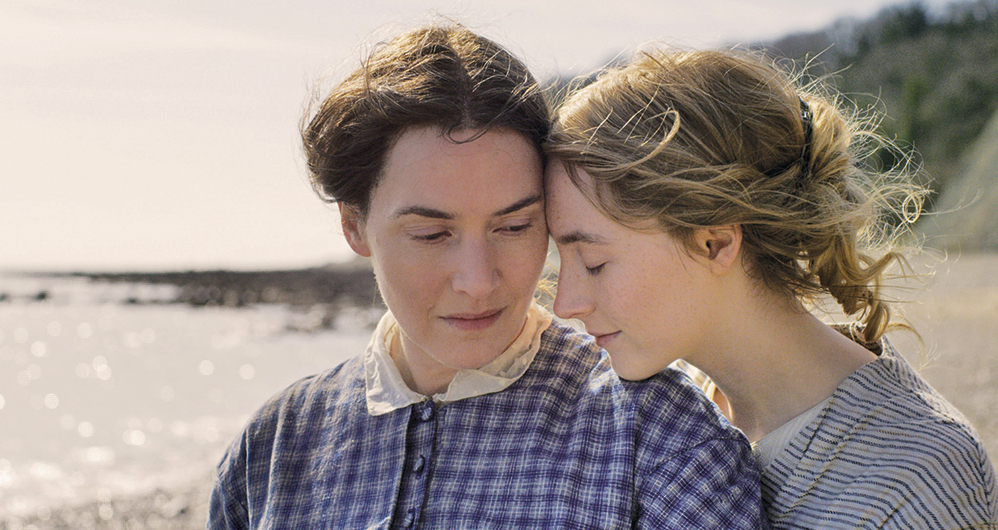 ammonite kate winslet saoirse ronan oscar stephane fontaine cinematography beach romance lesbian