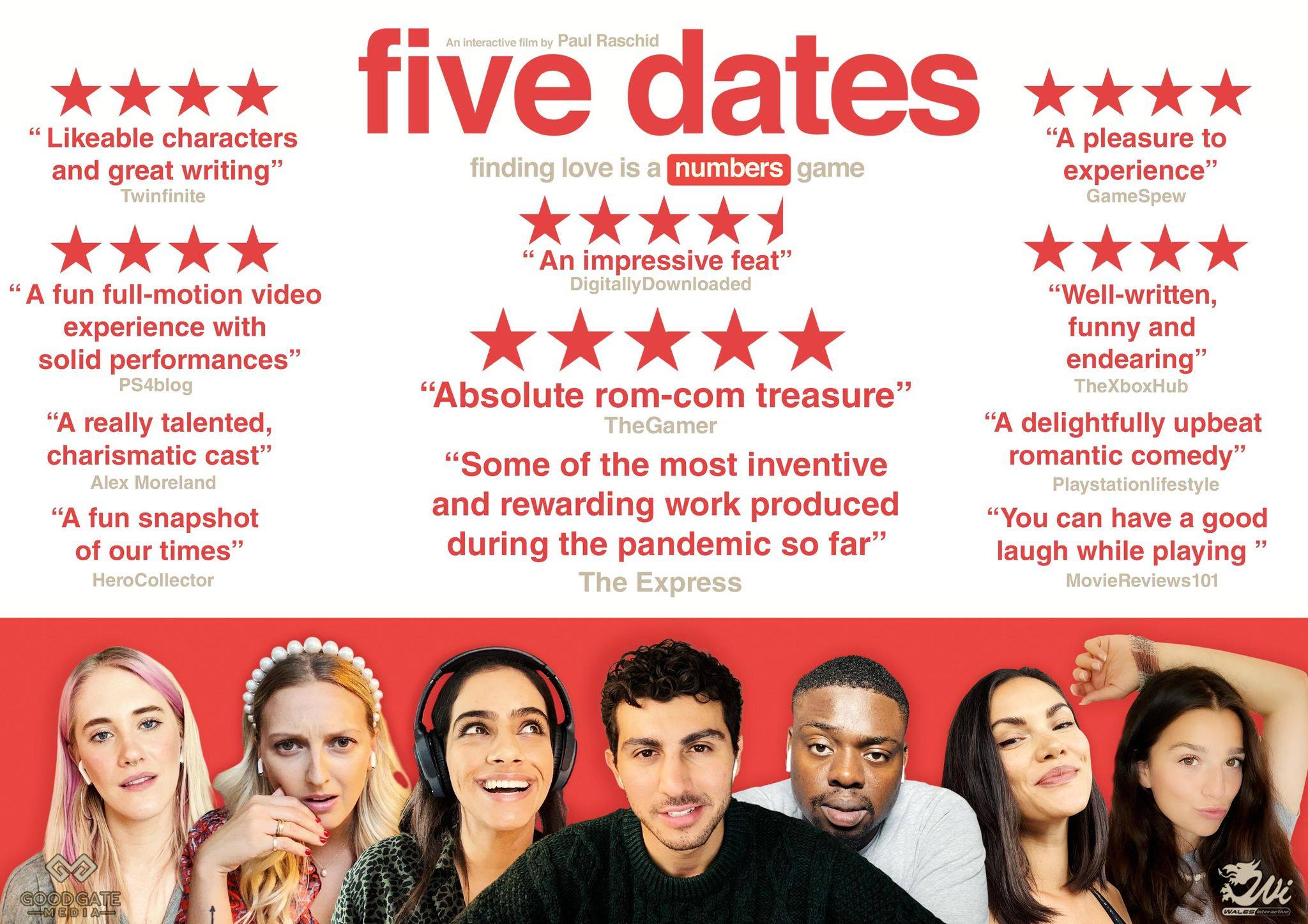 five-dates-good-gate-media-wales-interactive-poster-alex-moreland-reviews