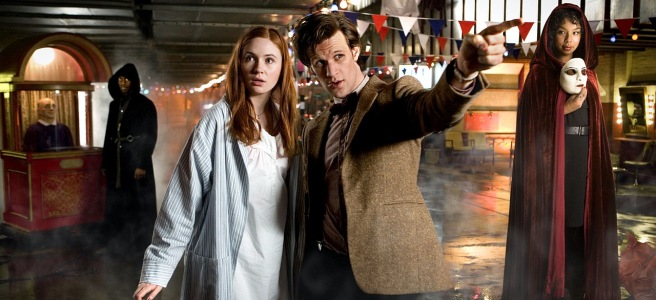 doctor who beast below steven moffat andrew gunn matt smith karen gillan starship uk omelas