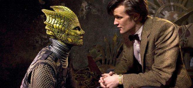 doctor who hungry earth review matt smith eleventh doctor alaya restac silurian eocene chibnall