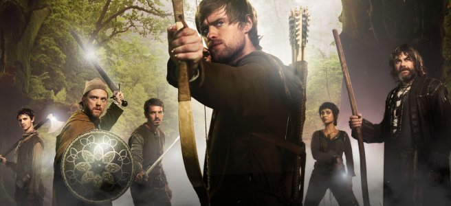 robin hood bbc 2006 jonas armstrong lucy griffiths keith allen dominic minghella foz allan interview production history